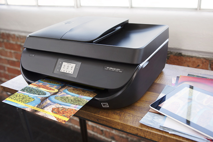 Impresora HP OfficeJet 4650 2