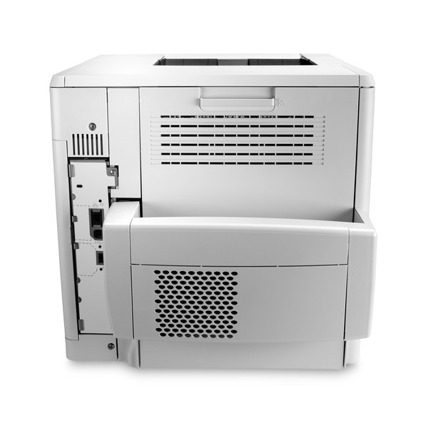 HP LaserJet Enterprise M604DN Posterior