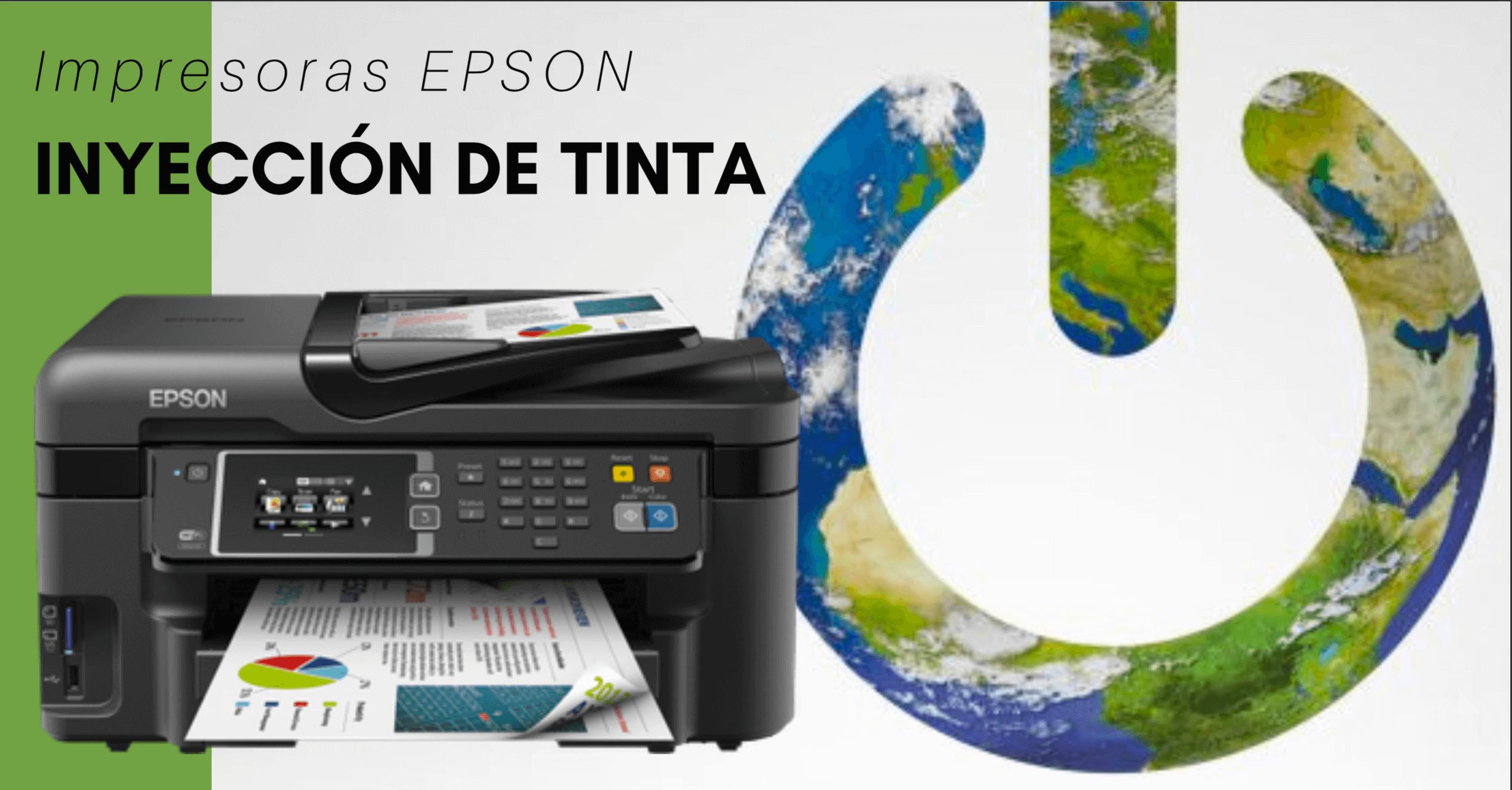 Inyección de tinta moderna y más rápida con Epson