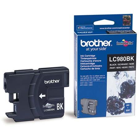 Cartucho Tinta Original Brother LC-980BK Negro