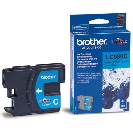 Cartucho Tinta Original Brother LC-980C Cian
