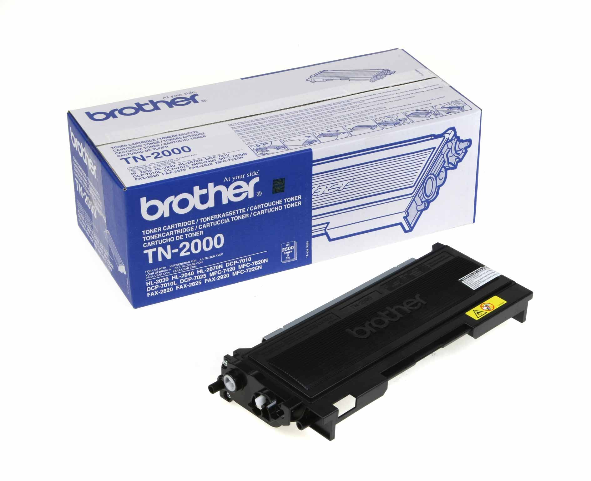 Venta de Toner Original Brother TN-2000