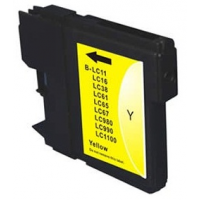 Venta de Cartucho Tinta Compatible Brother LC980Y LC1100Y Amarillo