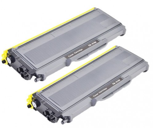 Pack 2 Toner Compatible Brother TN-2120